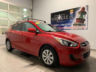 Used 2016 Hyundai Accent GL for sale in Rimouski, QC