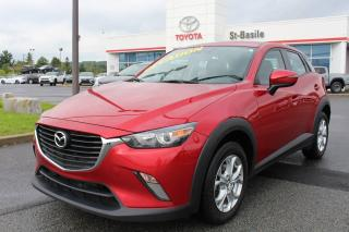 Used 2016 Mazda CX-3 GS MAGS SIEGES CHAUFFANTS CAMERA RECUL for sale in St-Basile-le-Grand, QC