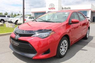 Used 2017 Toyota Corolla LE CAMERA RECUL SIÈGES CHAUFFANTS BLUETOOTH for sale in St-Basile-le-Grand, QC