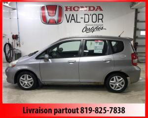 Used 2007 Honda Fit Hayon 5 portes, boîte automatique LX *Di for sale in Val-D'or, QC