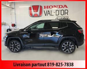 Used 2018 Jeep Compass Limited 4X4 for sale in Val-D'or, QC