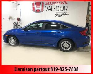 Used 2016 Honda Civic EX-T 4 portes CVT for sale in Val-D'or, QC