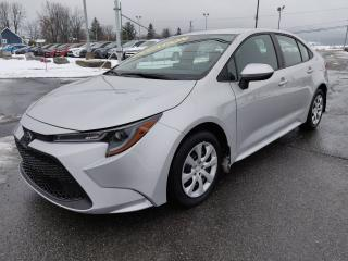 Used 2020 Toyota Corolla LE APPLE CARPLAY BLUETOOTH CLIM CRUISE for sale in St-Basile-le-Grand, QC
