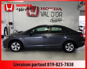 Used 2015 Honda Civic LX 4 portes, boîte automatique for sale in Val-D'or, QC