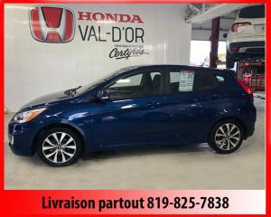 Used 2016 Hyundai Accent Voiture à hayon, 5 portes, boîte manuell for sale in Val-D'or, QC