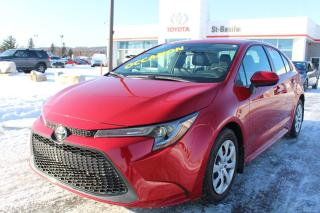 Used 2020 Toyota Corolla LE APPLE CARPLAY BLUETOOTH GROUPE ÉLECTRIQUE for sale in St-Basile-le-Grand, QC