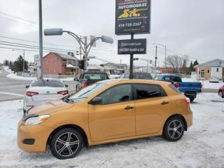 Used 2010 Toyota Matrix for sale in Rimouski, QC