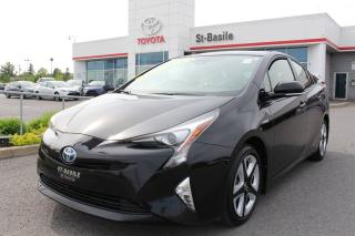 Used 2017 Toyota Prius TOURING MAGS GPS CAMERA RECUL SIEGES CHAUFFAN for sale in St-Basile-le-Grand, QC