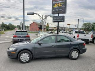 Used 2004 Mazda MAZDA6 GS for sale in Rimouski, QC