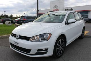 Used 2016 Volkswagen Golf Sportwagen HIGHLINE MAGS CUIR TOIT PANO SIEGES CHAUFFANT for sale in St-Basile-le-Grand, QC