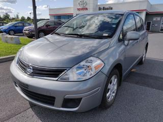 Used 2012 Nissan Versa SL AIR CLIMATISE MAGS AUX GR ELECTRIQUE for sale in St-Basile-le-Grand, QC