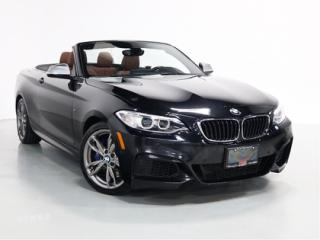 Used 2016 BMW 2 Series M235i   M-SPORT   WARRANTY   CONVERTIBLE   NAVI for sale in Vaughan, ON