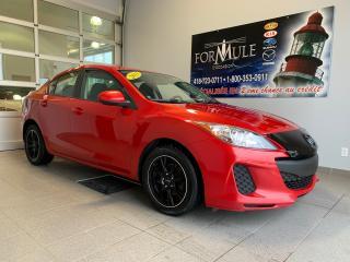 Used 2013 Mazda MAZDA3 GX for sale in Rimouski, QC