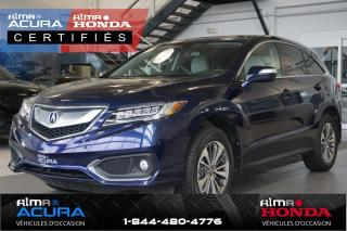 Used 2017 Acura RDX Groupe élite for sale in Alma, QC