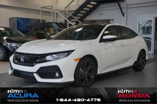Used 2018 Honda Civic Hatchback Sport Touring for sale in Alma, QC
