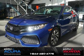 Used 2017 Honda Civic Hatchback LX for sale in Alma, QC