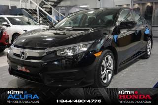 Used 2016 Honda Civic LX - GARANTIE PROLONGÉE for sale in Alma, QC