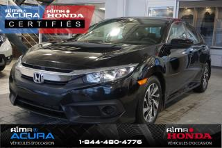 Used 2017 Honda Civic EX - GARANTIE PROLONGÉE for sale in Alma, QC