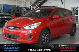 Used 2016 Hyundai Accent GL - HATCHBACK - for sale in Alma, QC
