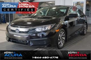 Used 2016 Honda Civic EX - GARANTIE PROLONGÉE for sale in Alma, QC