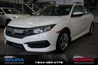Used 2017 Honda Civic LX for sale in Alma, QC