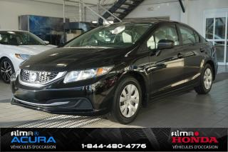 Used 2014 Honda Civic DX for sale in Alma, QC