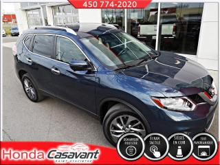 Used 2016 Nissan Rogue SL AWD - CUIR/CAMÉRA 360/SIÈGES ÉLECT for sale in St-Hyacinthe, QC
