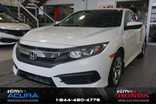 Used 2017 Honda Civic LX - BERLINE - BAS KM for sale in Alma, QC