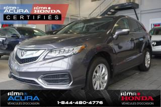Used 2017 Acura RDX GROUPE TECHNOLOGIQUE - AWD for sale in Alma, QC