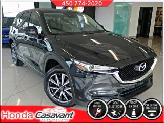 Used 2018 Mazda CX-5 GT AWD-GPS/CUIR/VOL. CHAUFFANT/HITCH for sale in St-Hyacinthe, QC