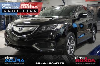 Used 2016 Acura RDX Groupe élite for sale in Alma, QC