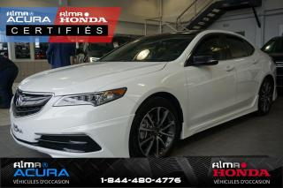 Used 2016 Acura TLX V6 SH-AWD - TRACTION INTÉGRALE for sale in Alma, QC