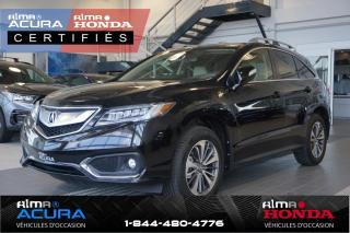 Used 2017 Acura RDX GROUPE ÉLITE - AWD - TRACTION INTÉGRALE for sale in Alma, QC