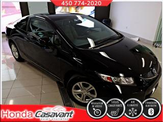 Used 2013 Honda Civic LX CPE, BLUETOOTH/CRUISE/MIROIRS CHAUFFA for sale in St-Hyacinthe, QC