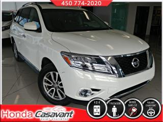 Used 2014 Nissan Pathfinder SL AWD- S.CHAUF AV+AR/CUIR/HITCH/VOL. CH for sale in St-Hyacinthe, QC