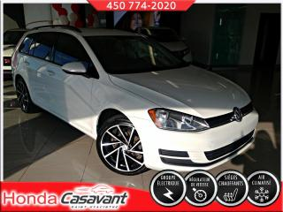 Used 2016 Volkswagen Golf Sportwagen 1.8 TSI - HITCH/MAGS RTX/MIROIRS CHAUF. for sale in St-Hyacinthe, QC