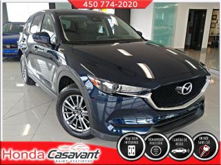 Used 2018 Mazda CX-5 GS AWD-HAY. ÉLECT/PEL 3M/SIÈGES ÉLECT for sale in St-Hyacinthe, QC
