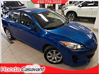 Used 2012 Mazda MAZDA3 GX MAN - GR. ÉLECTRIQUE / LECTEUR CD for sale in St-Hyacinthe, QC