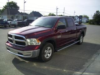 Used 2016 RAM 1500 Cabine multiplaces 4RM, 149 po SLT for sale in Lorrainville, QC