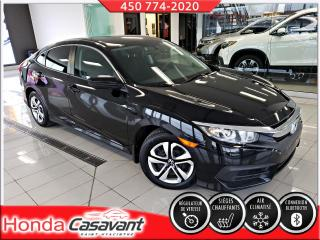 Used 2016 Honda Civic LX, MAN - APPLE CARPLAY/BLUETOOTH/CRUISE for sale in St-Hyacinthe, QC