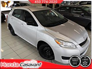 Used 2012 Toyota Matrix L 2RM - TAPIS+PNEUS HIVERS / ANTIROUILLE for sale in St-Hyacinthe, QC