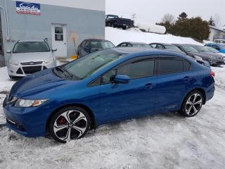 Used 2015 Honda Civic 4dr Man Si for sale in Lac-Etchemin, QC
