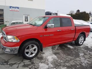 Used 2011 RAM 1500 4WD Crew Cab Big Horn for sale in Lac-Etchemin, QC
