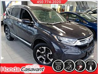 Used 2017 Honda CR-V TOURING AWD-CUIR/GPS/TOIT PANO/GR. HS for sale in St-Hyacinthe, QC