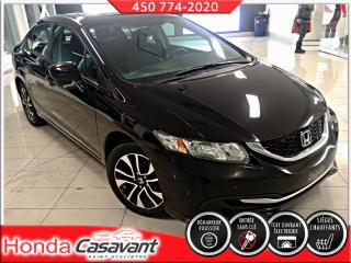 Used 2015 Honda Civic EX - BOUTON POUSSOIR/TOIT OUVRANT/MAGS for sale in St-Hyacinthe, QC