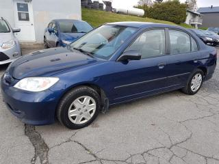 Used 2005 Honda Civic 4dr DX Auto for sale in Lac-Etchemin, QC