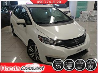 Used 2016 Honda Fit EX MAN - DEM. DISTANCE/CRUISE/BLUETOOTH for sale in St-Hyacinthe, QC