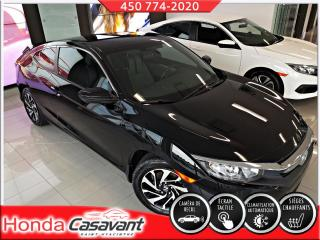 Used 2018 Honda Civic LX CPE MANUEL, SIÈGES CHAUFFANTS/MAGS for sale in St-Hyacinthe, QC