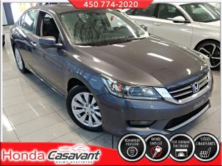 Used 2015 Honda Accord EX-L - MÉMOIRE SIÈGES/TOIT OUV./CUIR for sale in St-Hyacinthe, QC