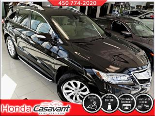 Used 2017 Acura RDX TECH AWD-SIÈGES CH. AV+AR/CUIR/GPS for sale in St-Hyacinthe, QC